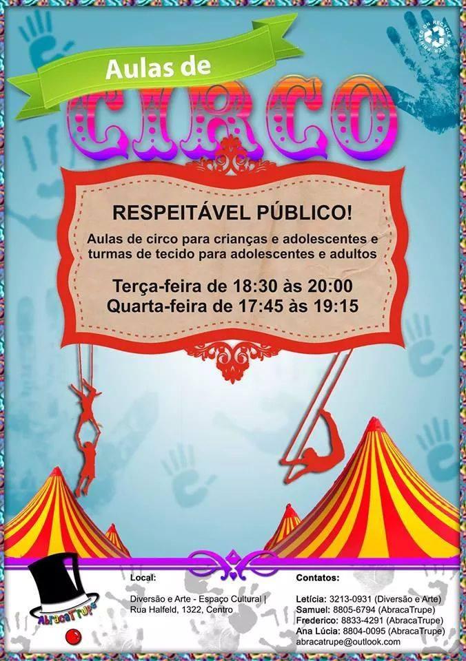aulas circo